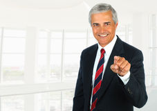 Middle Age Businessman Royalty Free Stock Photos