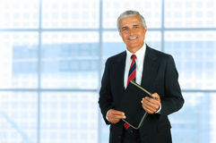 Middle Age Businessman Stock Photography