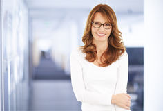 Middle age businesswoman Royalty Free Stock Photography