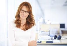Middle age businesswoman portrait Stock Photo