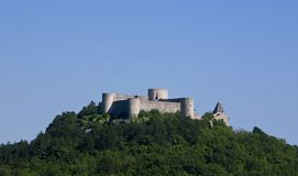 Middle age castle in Drivenik, Croatia Stock Images