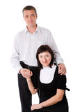 Middle age couple Stock Photography