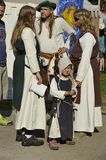 Middle Age Family, Medieval Festival, Nuremberg 20 Stock Images