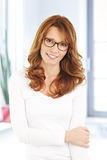 Middle age woman portrait Royalty Free Stock Photo