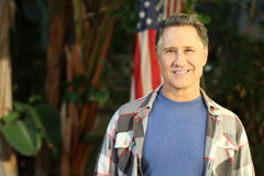 Middle aged american male portrait Stock Images