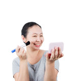 Middle-aged Asian woman. Stock Photos