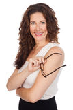 Middle Aged Business Woman royalty free stock photo