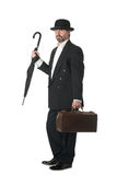 Middle aged businessman Stock Images