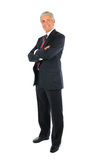 Middle aged Businessman with Arms Folded Royalty Free Stock Photos