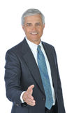 Middle Aged Businessman With Extended Hand Stock Images