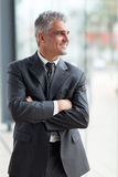 Middle aged businessman Royalty Free Stock Photography