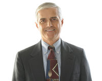 Middle Aged Businessman Portrait Royalty Free Stock Images
