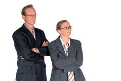 Middle aged businesspeople Royalty Free Stock Photos