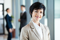 Middle aged businesswoman Royalty Free Stock Photo