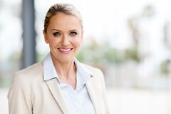 Middle aged businesswoman Royalty Free Stock Images