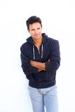 Middle aged casual fashion man Stock Photos