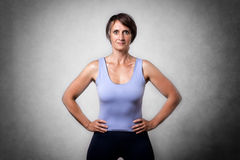 Middle aged confident woman Royalty Free Stock Photography