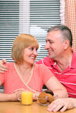 Middle-aged couple Royalty Free Stock Image