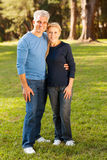 Middle aged couple Stock Images