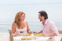 Middle-aged couple Stock Images