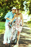 Middle aged couple dating stock images