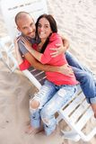 Middle-aged couple Royalty Free Stock Photos