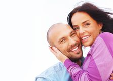 Middle-aged couple Royalty Free Stock Images