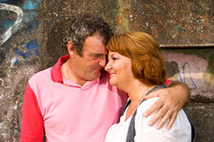 Middle Aged Couple in Love Stock Photos