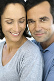 Middle-aged couple in love Stock Image