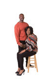 Middle aged couple with their arms around each other Royalty Free Stock Photography