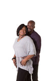 Middle aged couple with their arms around each other Stock Photography