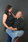 Middle aged couple Royalty Free Stock Images
