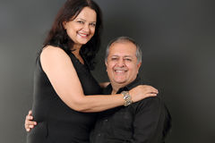 Middle aged couple Royalty Free Stock Image