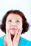 Middle-aged female Royalty Free Stock Image