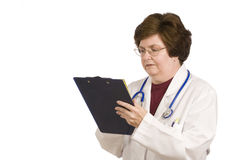 Middle-aged Female Doctor Royalty Free Stock Image