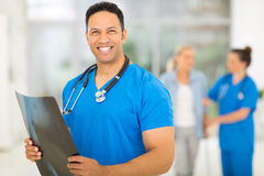 Middle aged healthcare worker Royalty Free Stock Photo