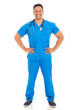 Middle aged healthcare worker Stock Images