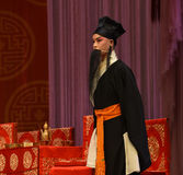 """Middle-aged housekeeper- Beijing Opera"""" Women Generals of Yang Family"""". This opera tells a patriotic story how does an old woman of a hundred years Stock Image"""