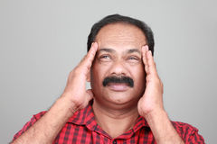 Middle aged Indian Stock Photography