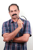 A middle aged Indian Stock Image