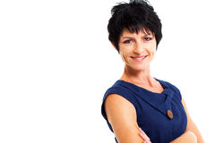 Middle aged lady Royalty Free Stock Image