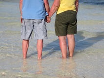 Middle-aged love Stock Photography