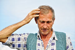 Middle aged male person Royalty Free Stock Images