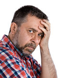 Middle aged man Royalty Free Stock Photos