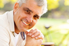 Middle aged man Stock Images
