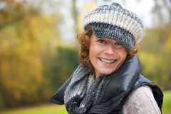 Middle Aged Smiling Woman Royalty Free Stock Photography