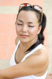 Middle - aged  Thai attractive woman. Stock Photography