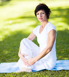 Middle aged woman Stock Photography