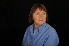 Middle aged woman Stock Image