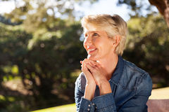 Middle aged woman Royalty Free Stock Photo